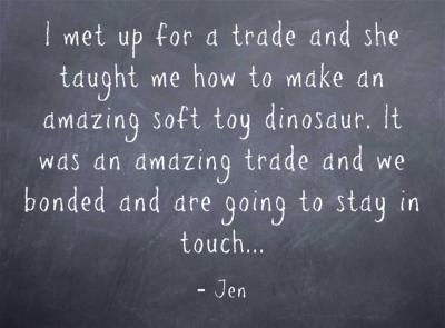 An amazing trade...