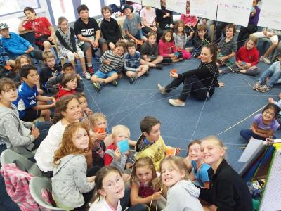 Island Bay school kids learn about timebanking