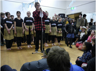 Aro Valley Community Hangi - Kapa Haka